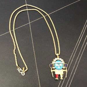 New Kenneth Lane Tribal Multi Colored Necklace